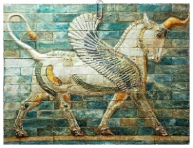 Winged bull. Susa, Iran