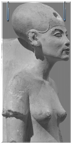 Miss ancient perfection. Nefertiti