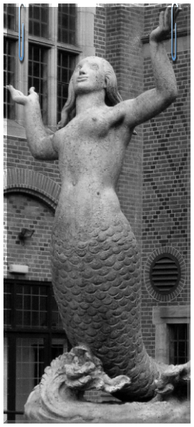 Miss ancient perfection. Mermaid