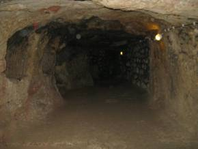Derinkuyu underground city. Cappadokia. Turkey